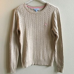 EUC IZOD Cable Knit Sweater    Size: M